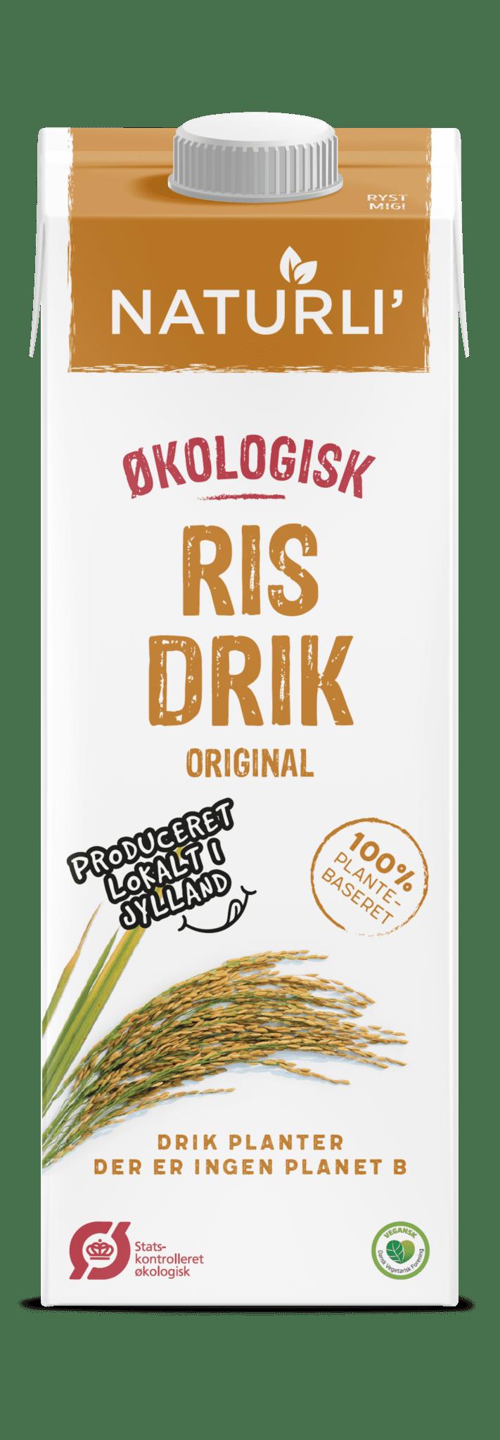 Băutură bio de orez